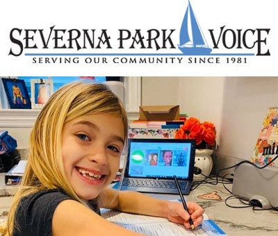 Article in Severna Park Voice about remote learning